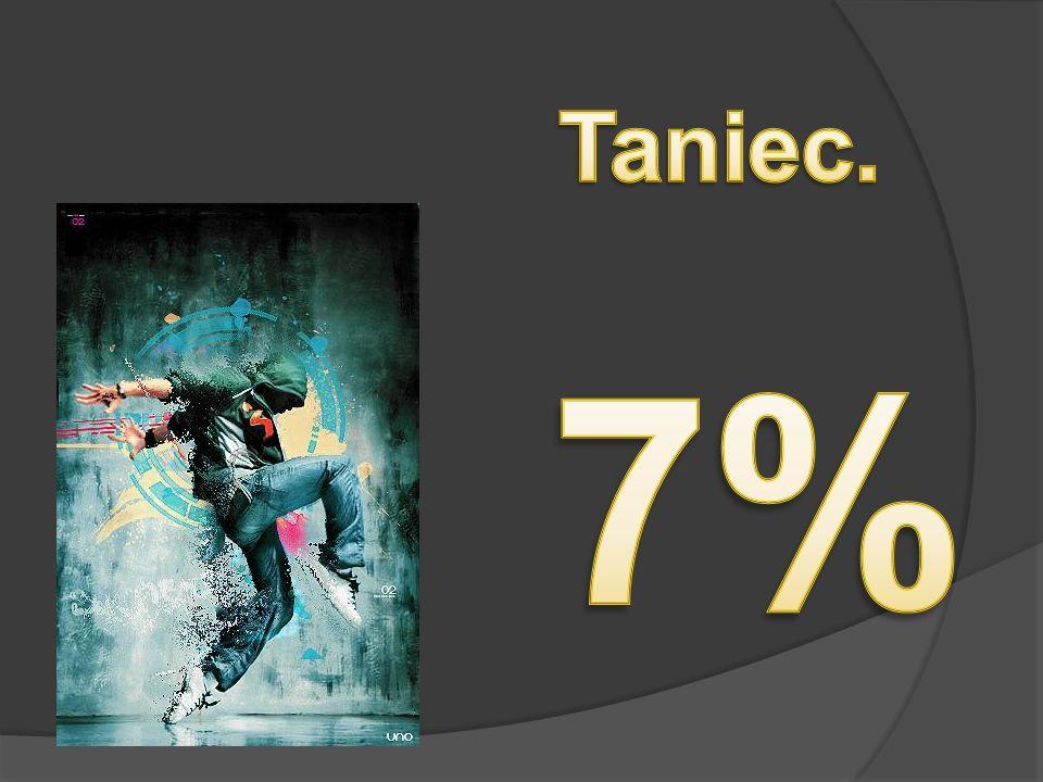 Taniec. 7%