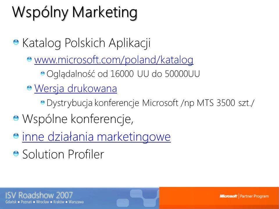 Wspólny Marketing Katalog Polskich Aplikacji Wspólne konferencje,