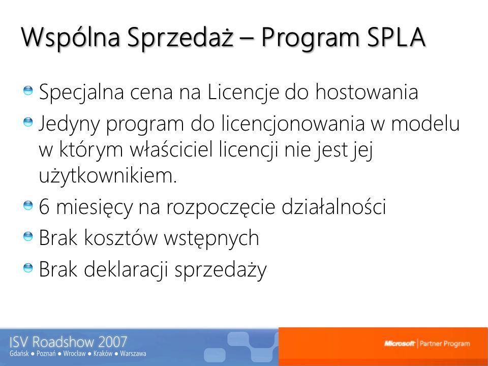Wspólna Sprzedaż – Program SPLA