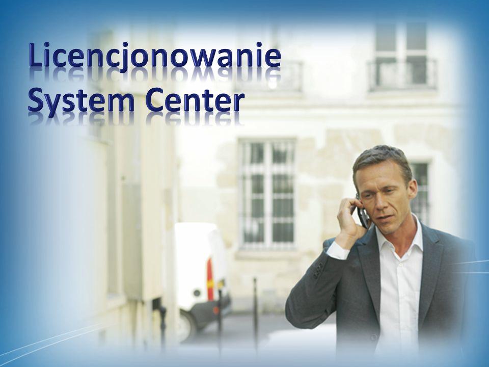 Licencjonowanie System Center