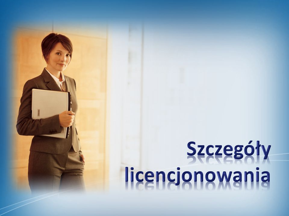 Szczegóły licencjonowania