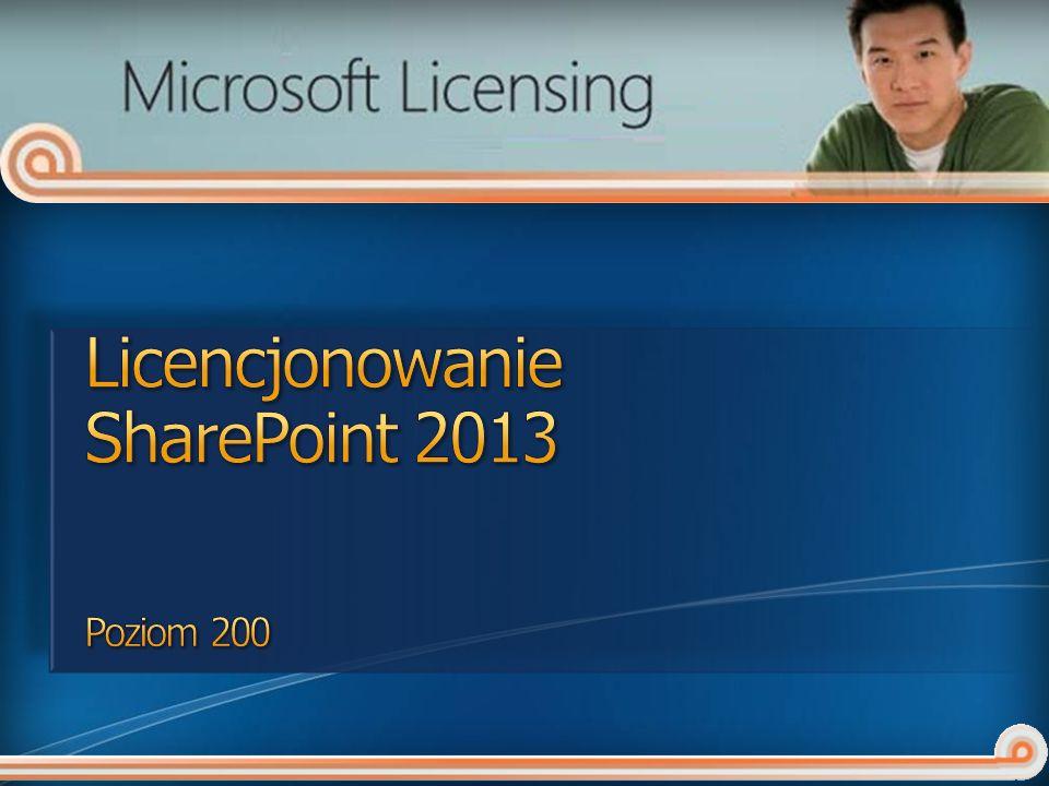 Licencjonowanie SharePoint 2013