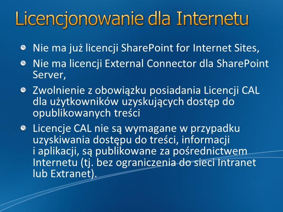 Licencjonowanie dla Internetu