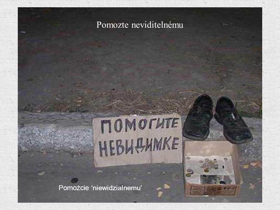 Pomozte neviditelnému