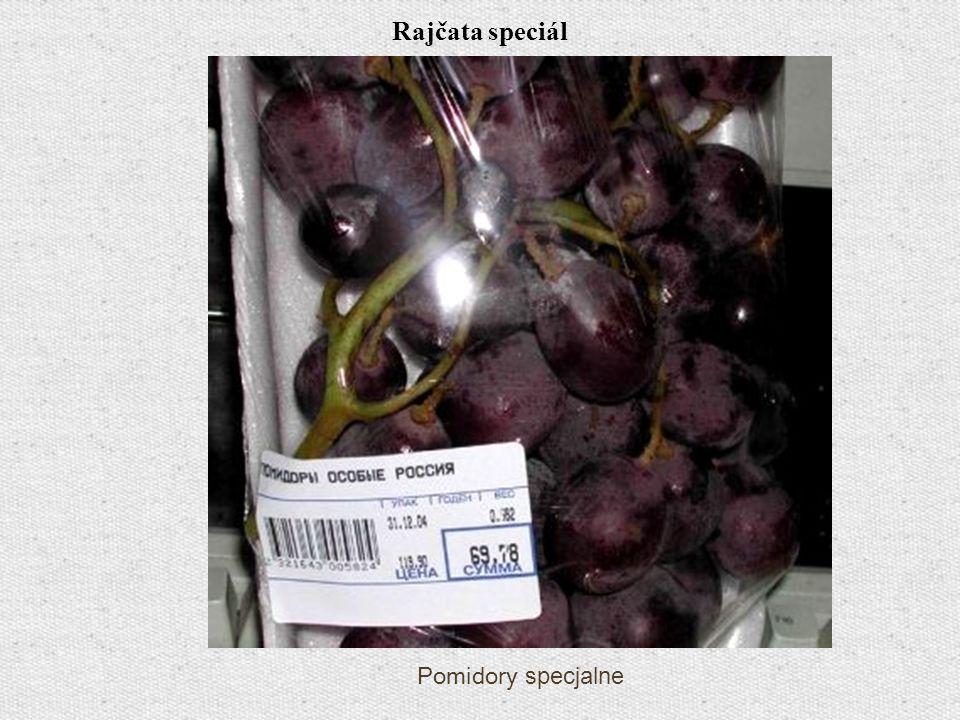 Rajčata speciál Pomidory specjalne