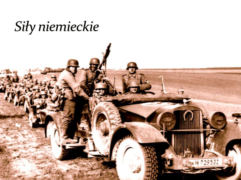 Siły niemieckie