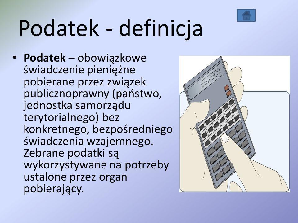 Podatek - definicja