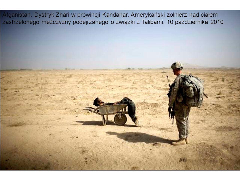 Afganistan. Dystryk Zhari w prowincji Kandahar