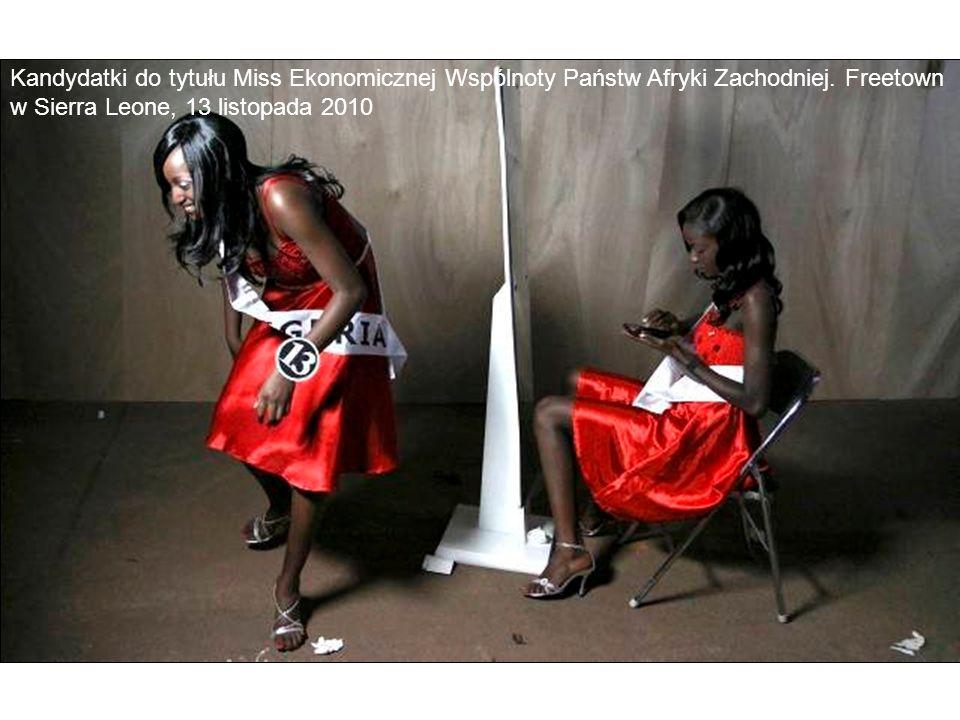 Kandydatki do tytułu Miss Ekonomicznej Wspólnoty Państw Afryki Zachodniej.
