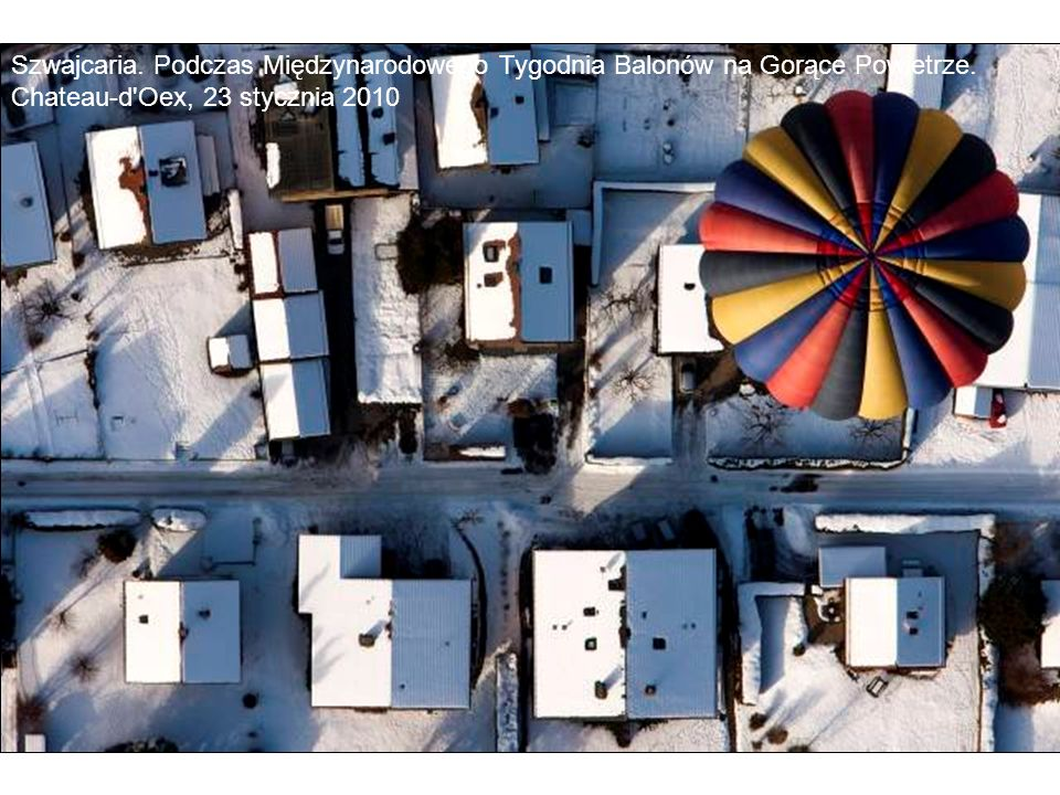 Szwajcaria. Podczas Międzynarodowego Tygodnia Balonów na Gorące Powietrze.