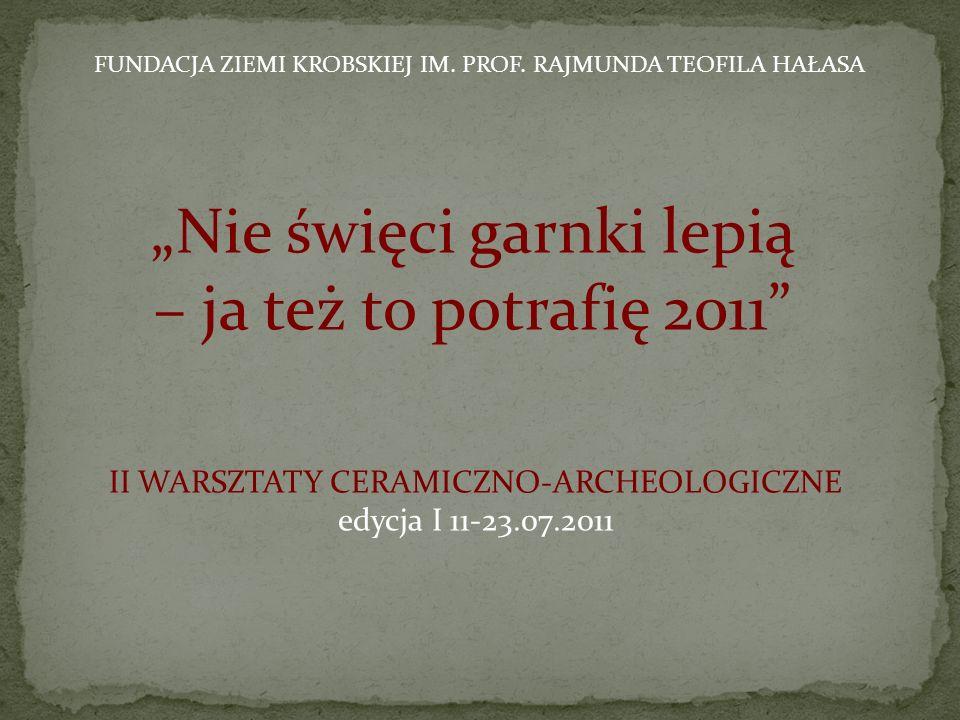 """""""Nie święci garnki lepią – ja też to potrafię 2011"""