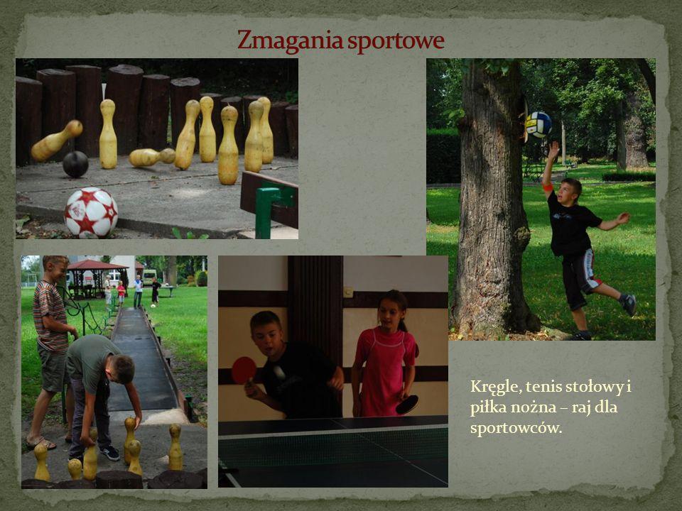 Zmagania sportowe Kręgle, tenis stołowy i piłka nożna – raj dla sportowców.