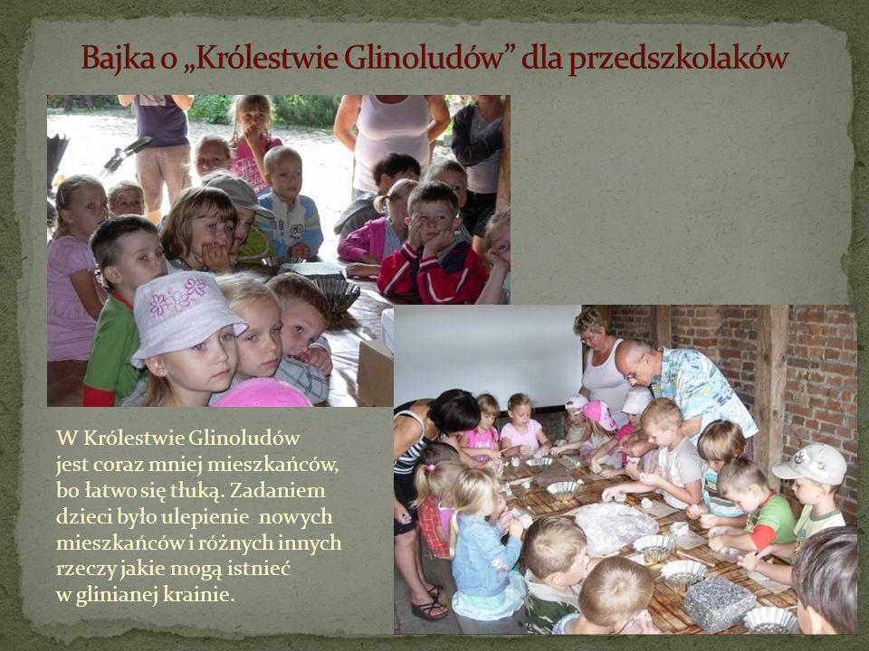 """Bajka o """"Królestwie Glinoludów dla przedszkolaków"""