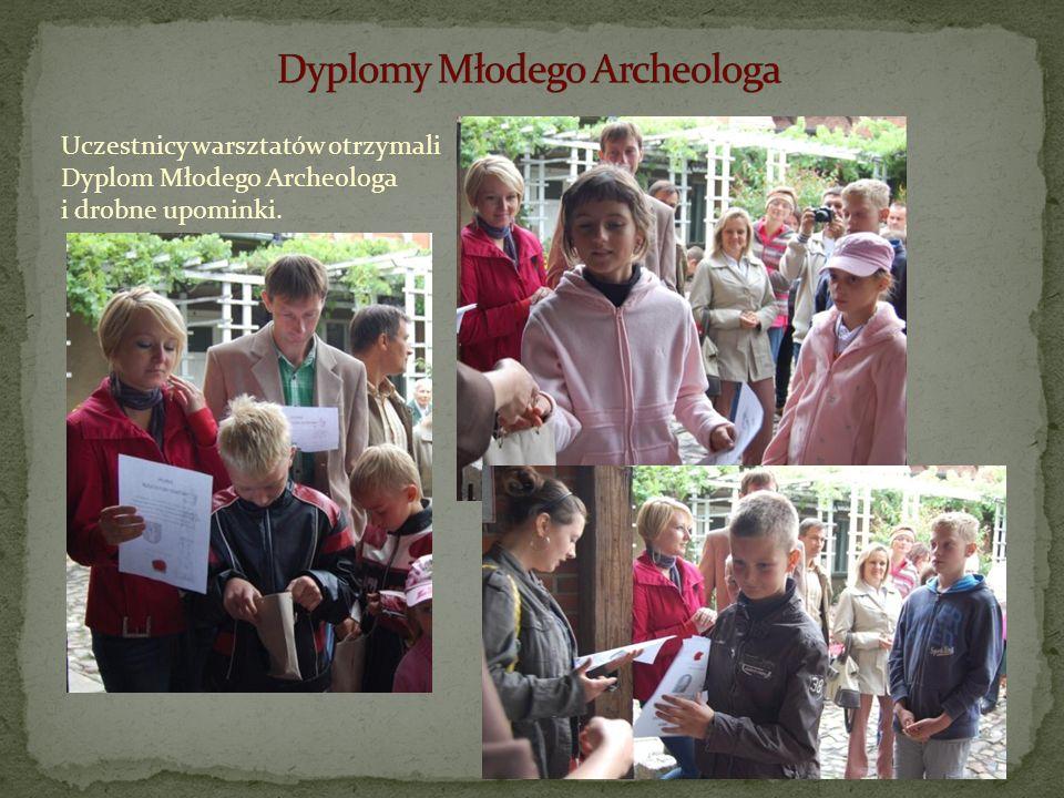 Dyplomy Młodego Archeologa