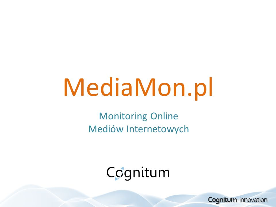 Monitoring Online Mediów Internetowych