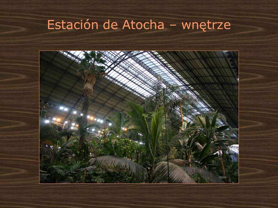 Estación de Atocha – wnętrze
