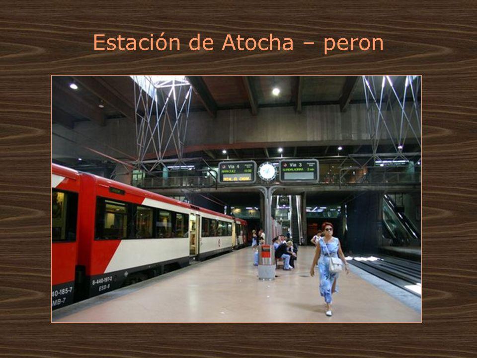 Estación de Atocha – peron