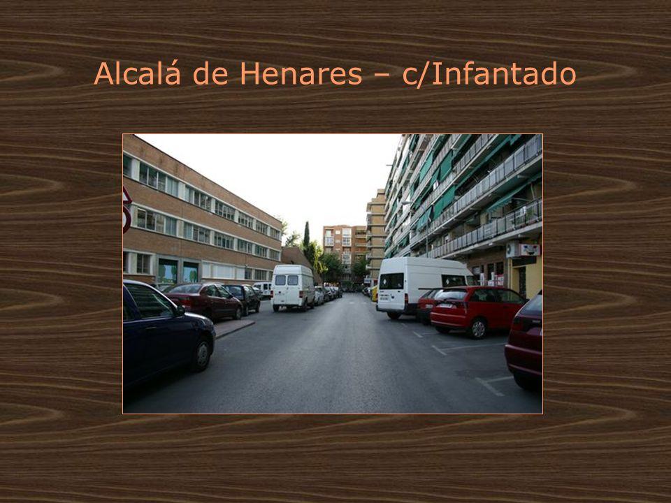 Alcalá de Henares – c/Infantado