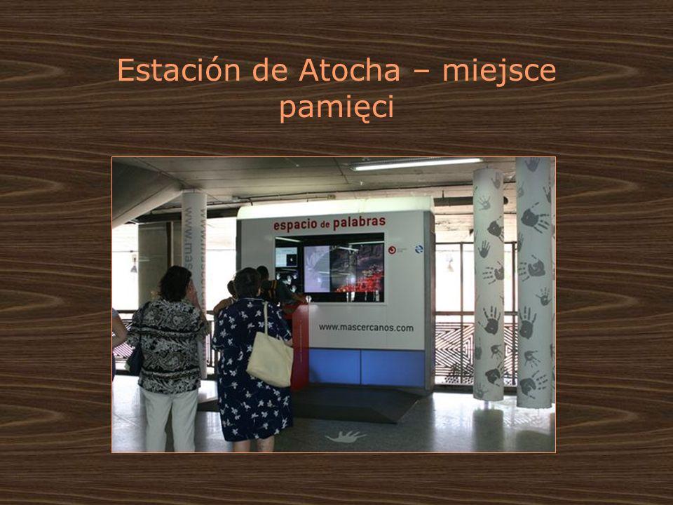 Estación de Atocha – miejsce pamięci