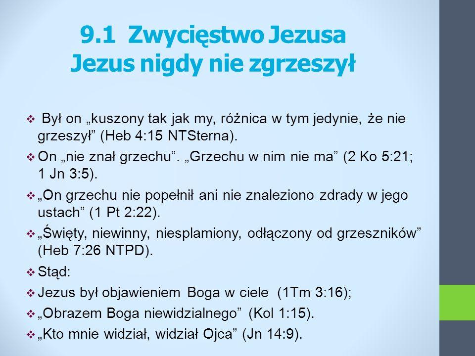 Jezus nigdy nie zgrzeszył