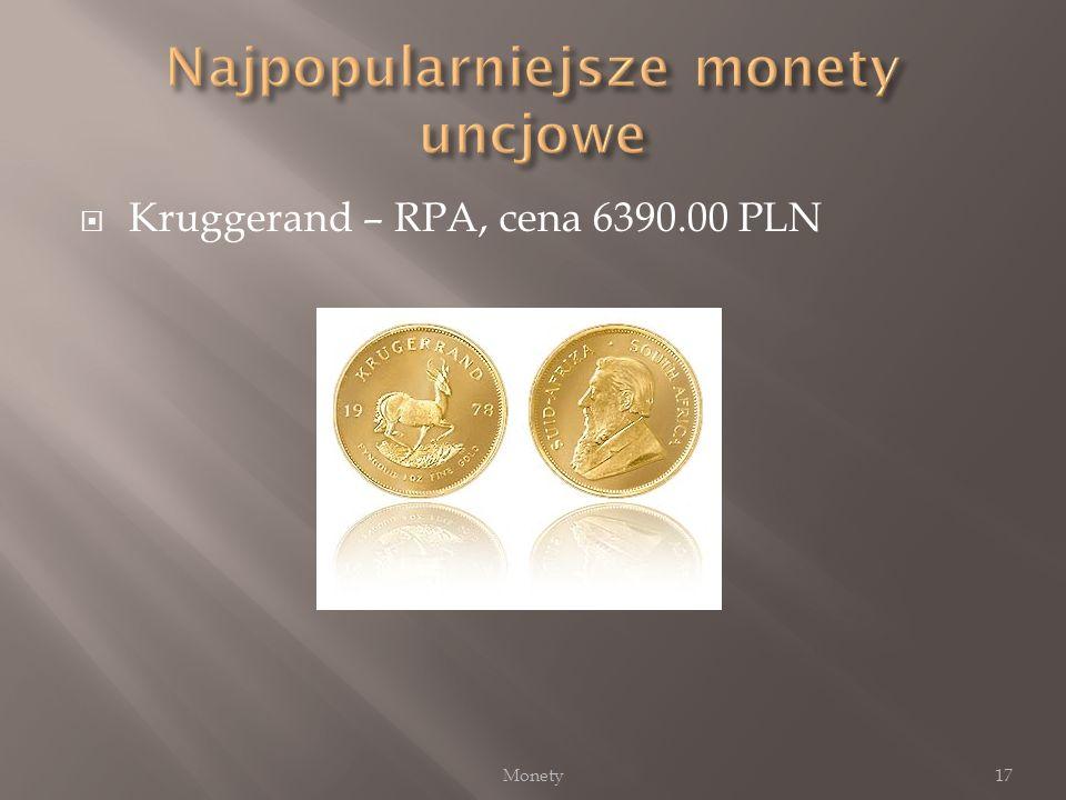 Najpopularniejsze monety uncjowe