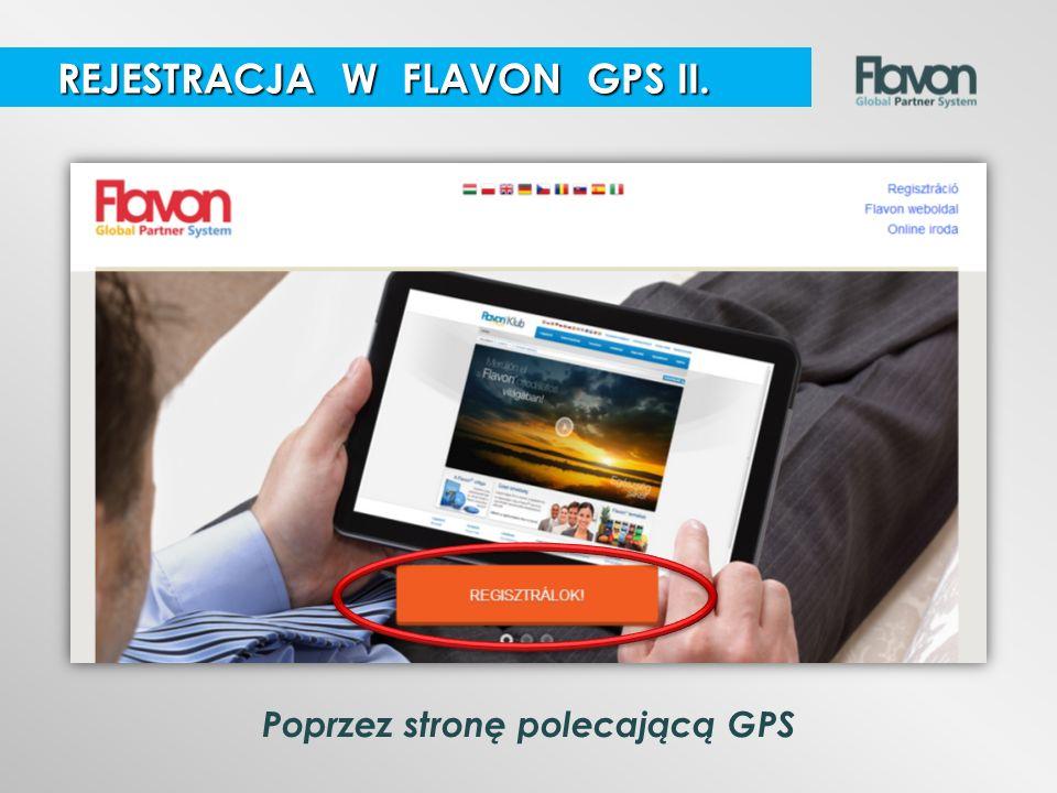 Poprzez stronę polecającą GPS