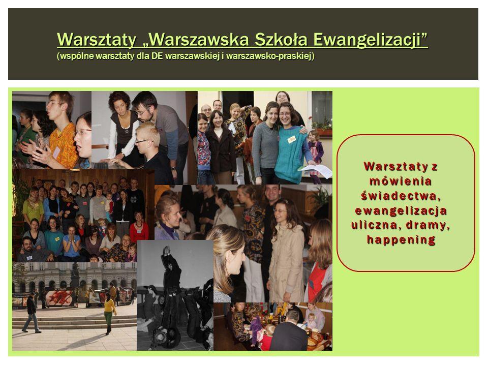 """Warsztaty """"Warszawska Szkoła Ewangelizacji (wspólne warsztaty dla DE warszawskiej i warszawsko-praskiej)"""