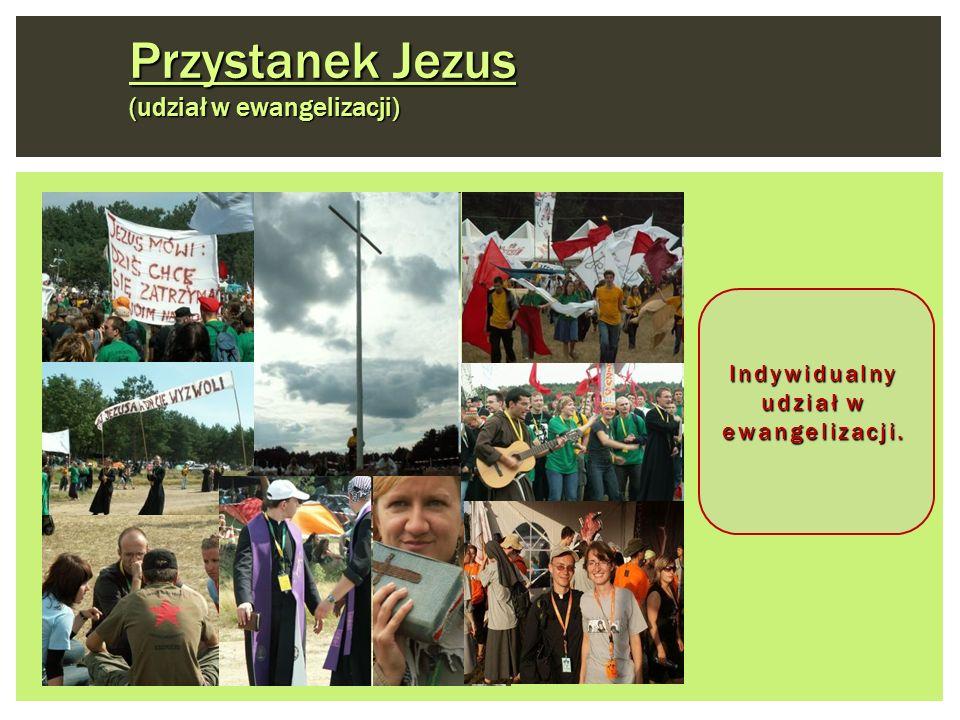 Indywidualny udział w ewangelizacji.