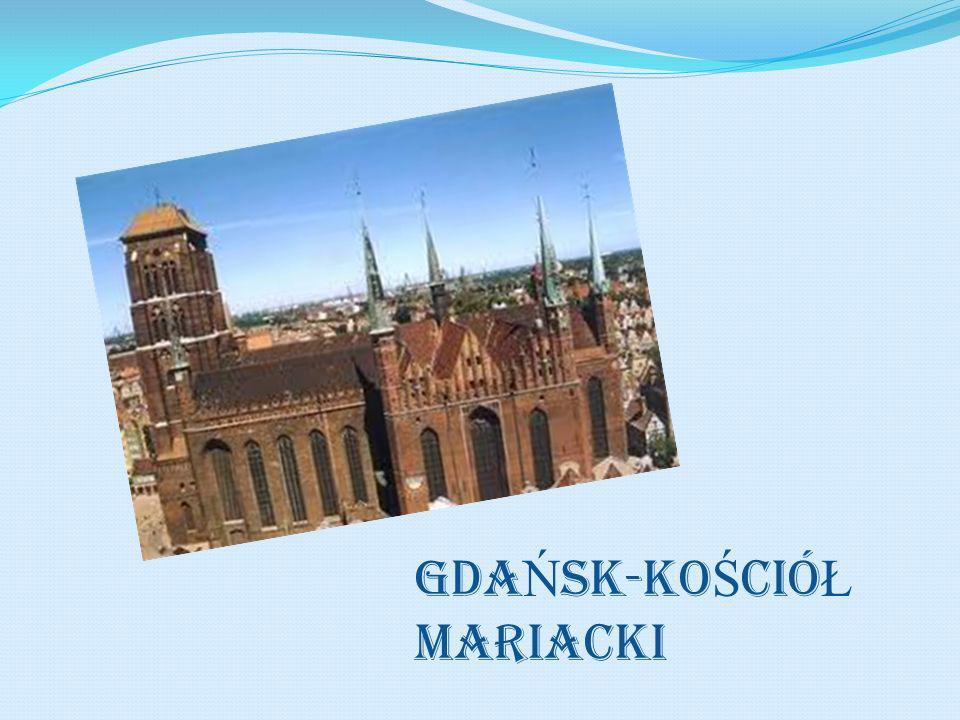 GDAŃSK-KoŚcióŁ MAriacki