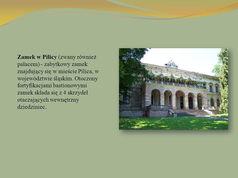 Zamek w Pilicy (zwany również pałacem) - zabytkowy zamek znajdujący się w mieście Pilica, w województwie śląskim.