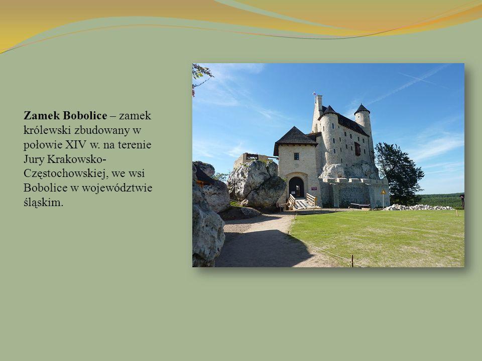 Zamek Bobolice – zamek królewski zbudowany w połowie XIV w