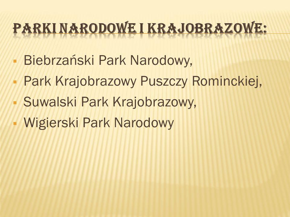 Parki narodowe i krajobrazowe:
