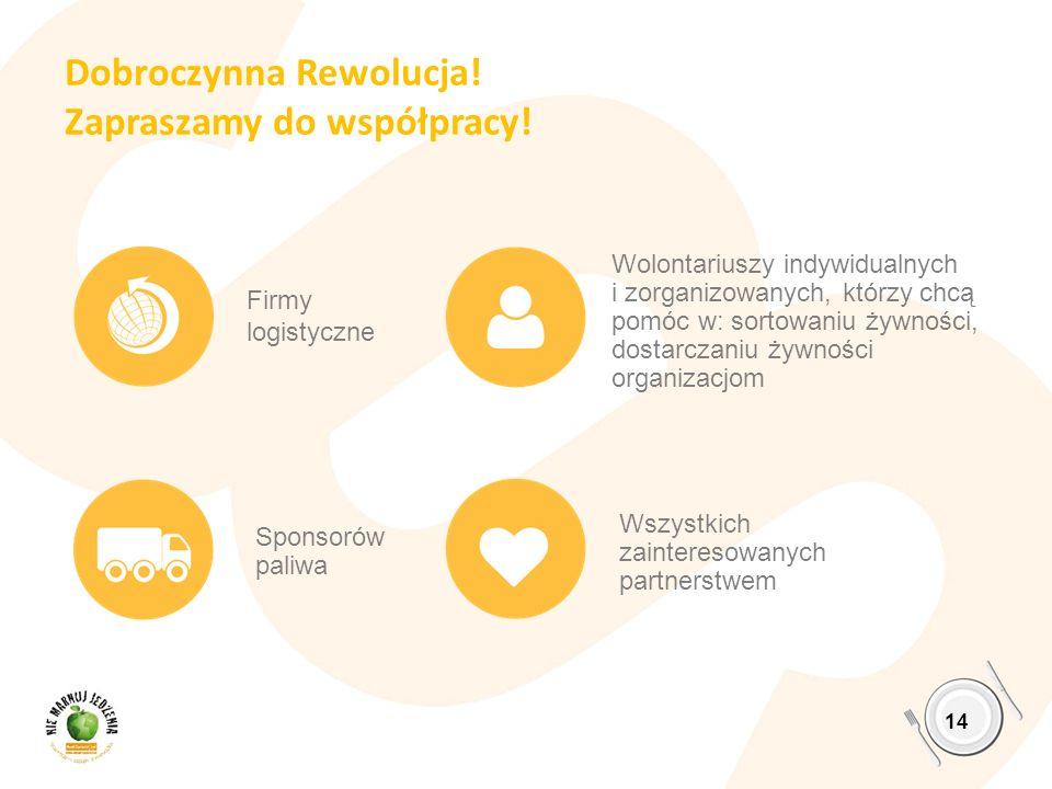 Dobroczynna Rewolucja! Zapraszamy do współpracy!