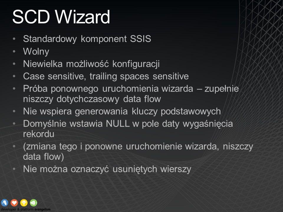 SCD Wizard Standardowy komponent SSIS Wolny