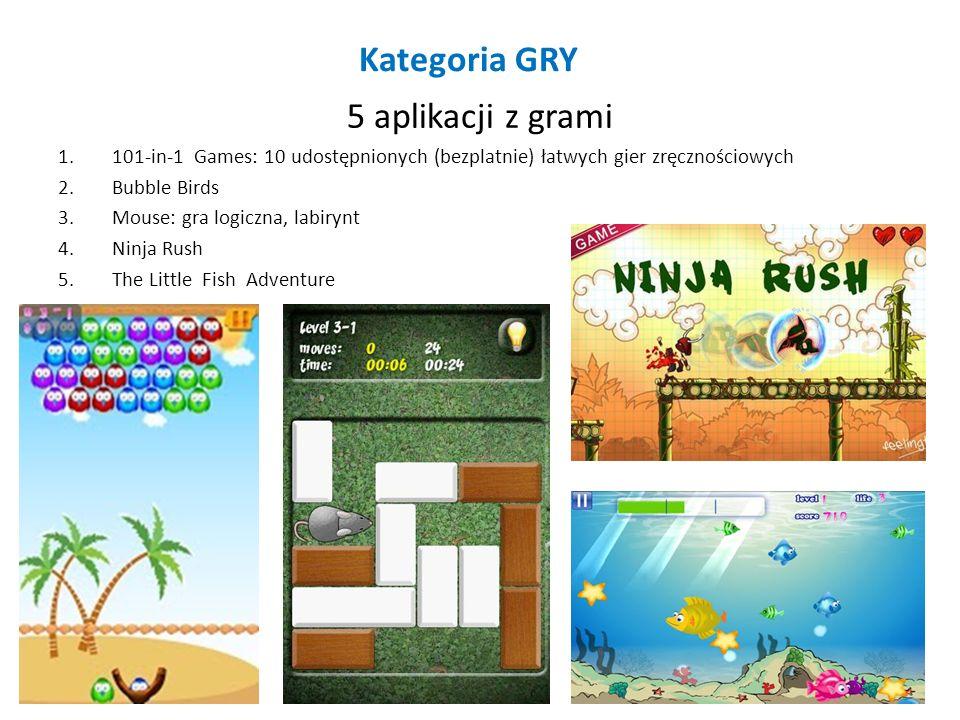 Kategoria GRY 5 aplikacji z grami