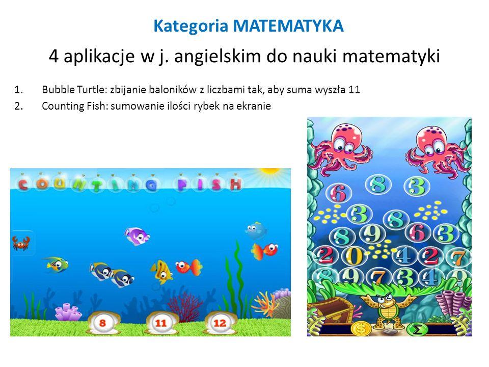 4 aplikacje w j. angielskim do nauki matematyki