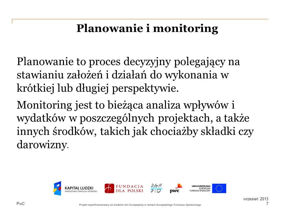 Planowanie i monitoring