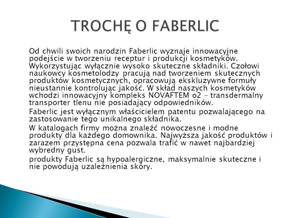 TROCHĘ O FABERLIC