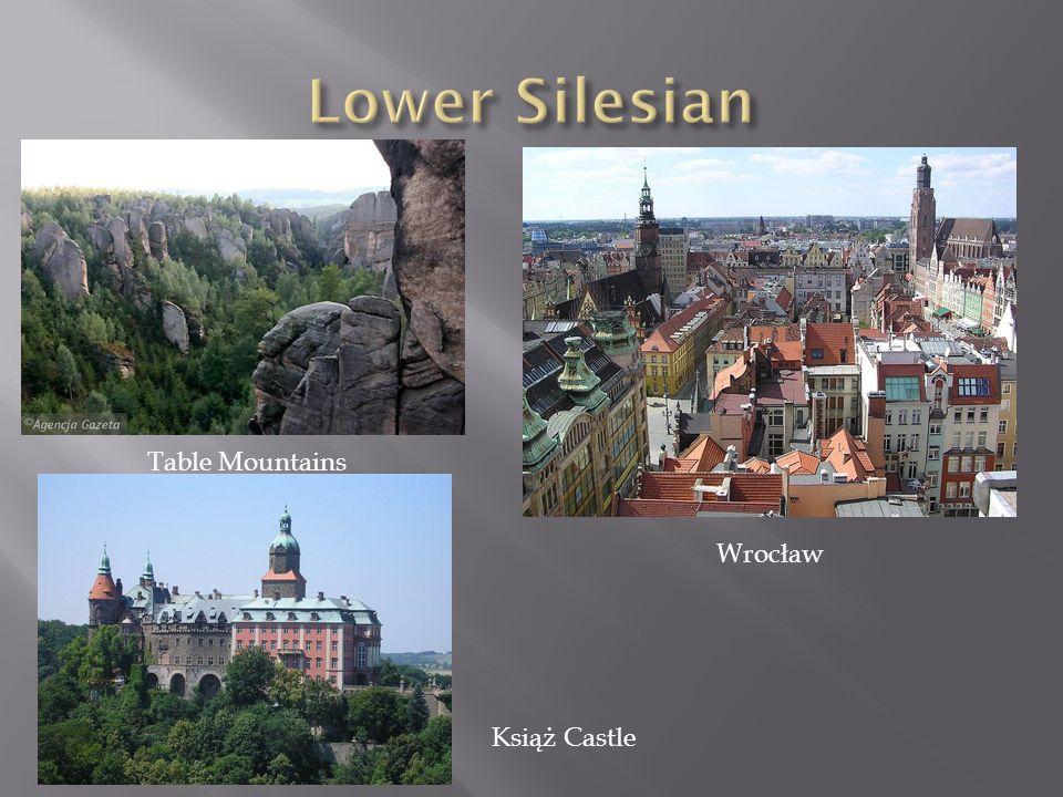 Lower Silesian Table Mountains Wrocław Książ Castle