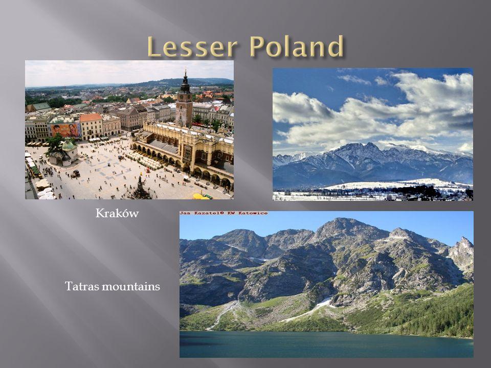 Lesser Poland Kraków Tatras mountains