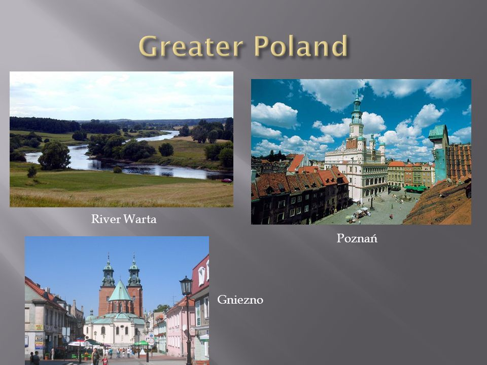 Greater Poland River Warta Poznań Gniezno