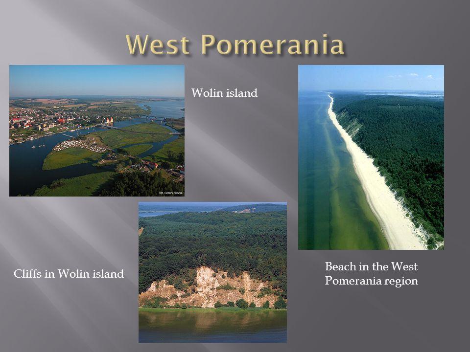 West Pomerania Wolin island Beach in the West Pomerania region
