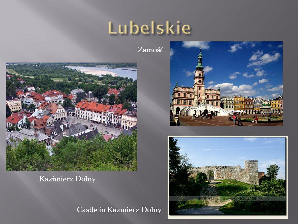 Lubelskie Zamość Kazimierz Dolny Castle in Kazmierz Dolny
