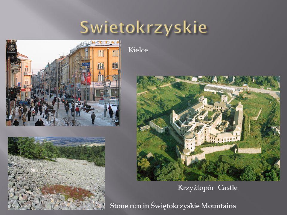 Swietokrzyskie Kielce Krzyżtopór Castle