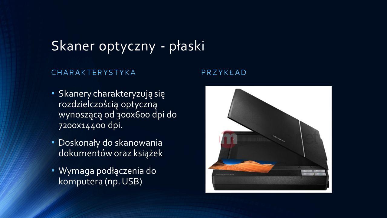 Skaner optyczny - płaski