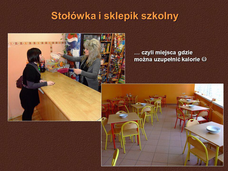 Stołówka i sklepik szkolny