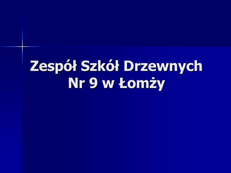 Zespół Szkół Drzewnych Nr 9 w Łomży