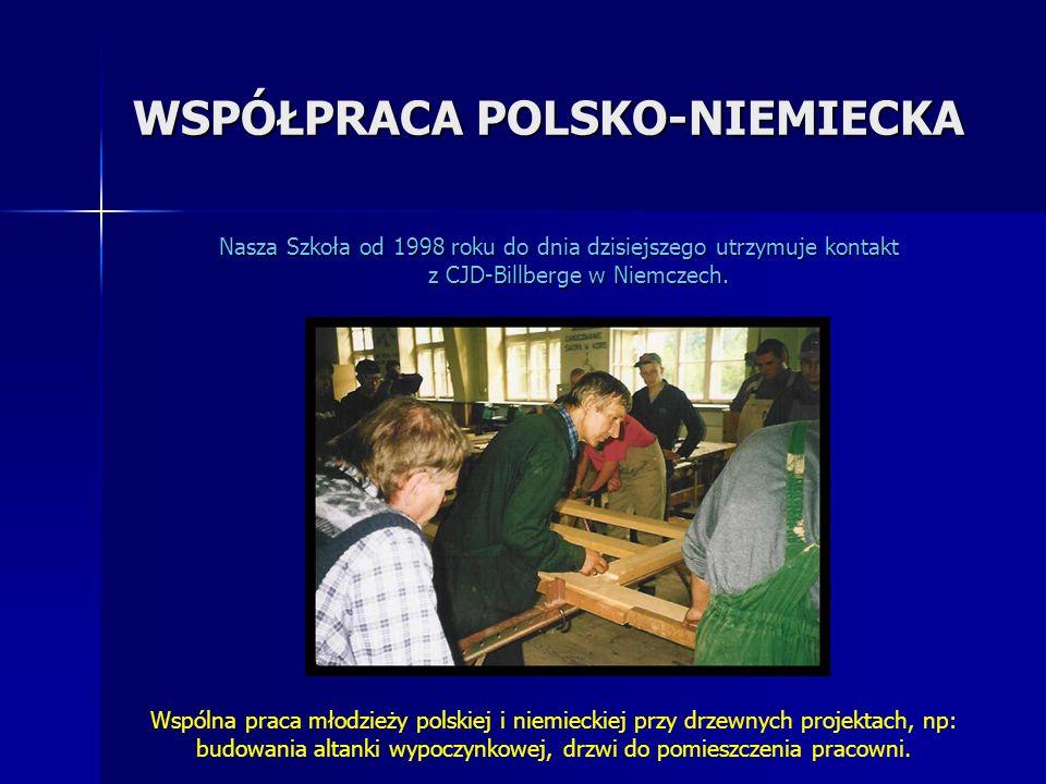 WSPÓŁPRACA POLSKO-NIEMIECKA