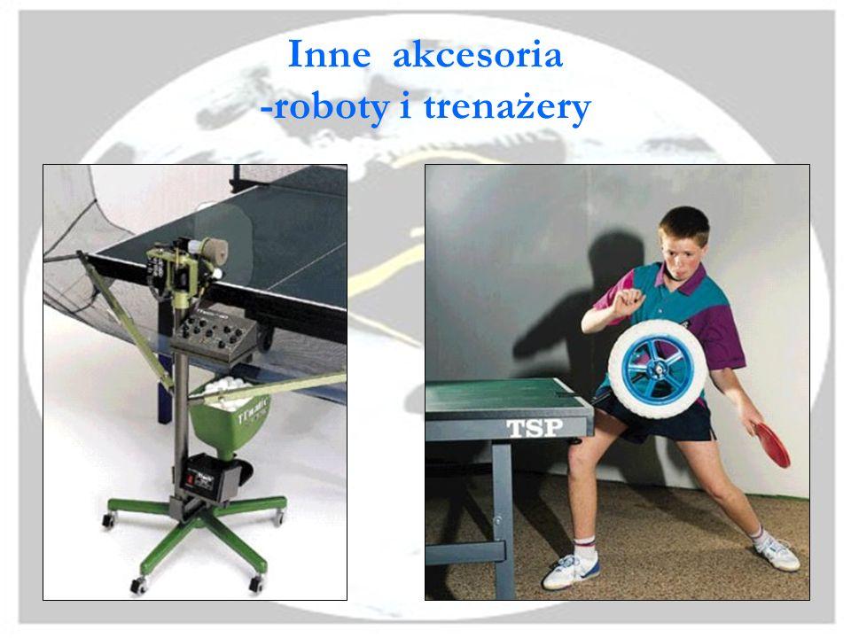 Inne akcesoria -roboty i trenażery