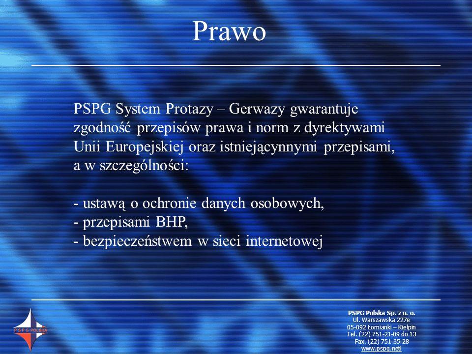 Prawo PSPG System Protazy – Gerwazy gwarantuje